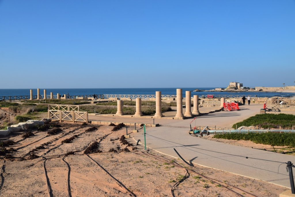 Caesarea January 2019 Israel Tour with John Delancey and BIMT