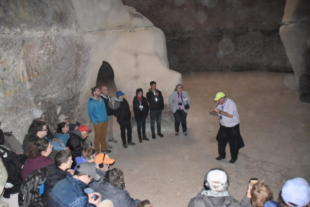 Bell Cave January 2019 Israel Tour