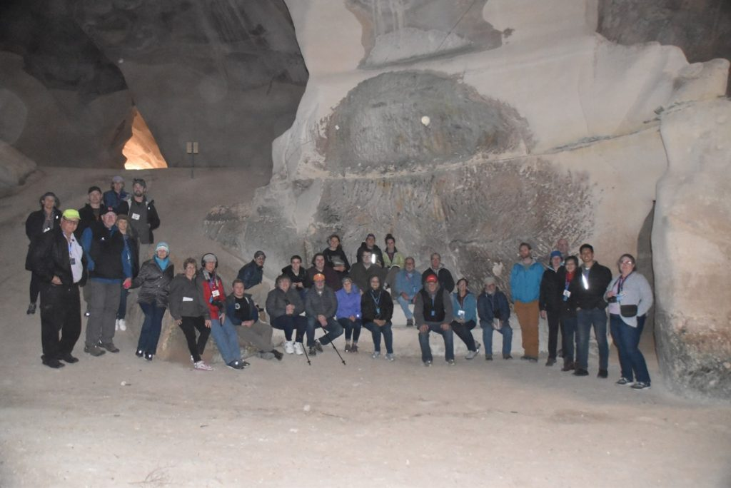 Bell Cave January 2019 Israel Tour with John Delancey of Biblical Israel Ministries & Tours