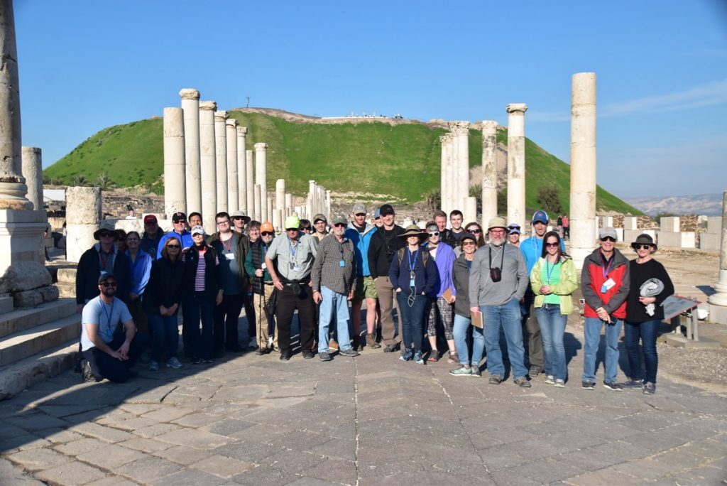 Beth Shean January 2019 Israel Tour with John Delancey of Biblical Israel Ministries & Tours