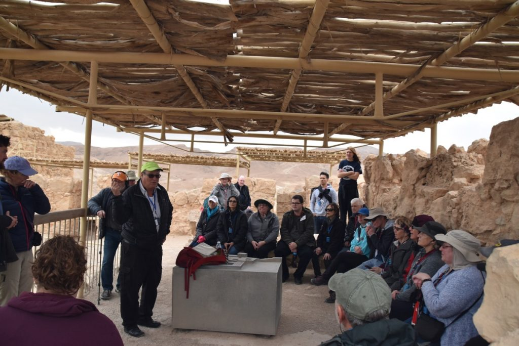 Masada January 2019 Israel Tour with John Delancey of Biblical Israel Ministries & Tours