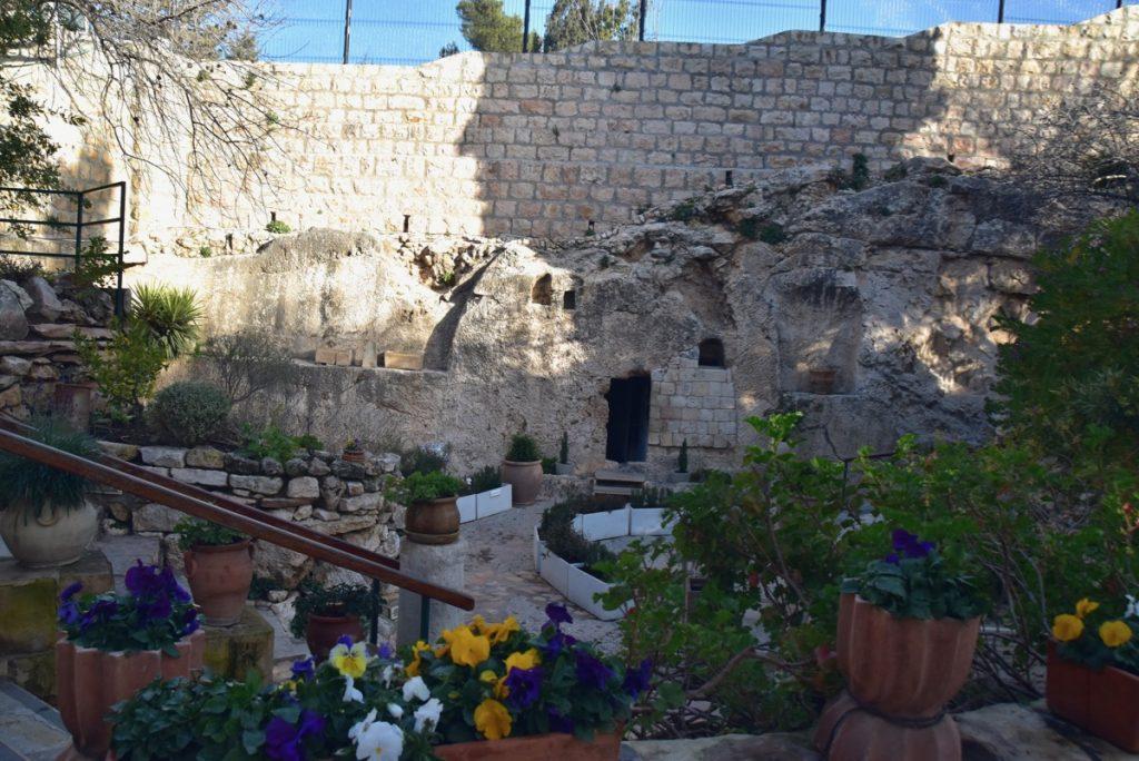 Garden Tomb January 2019 Israel Tour John Delancey BIMT