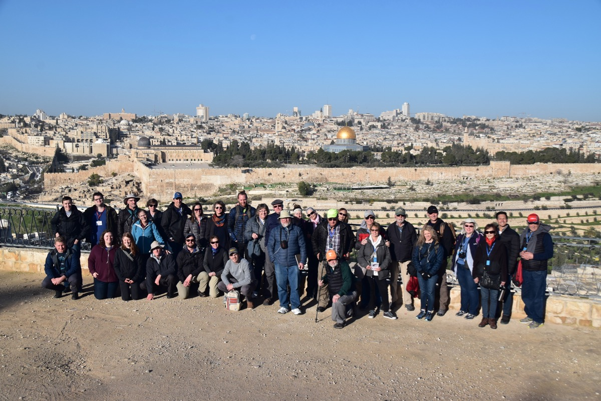 Mt. of Olives and Jerusalem