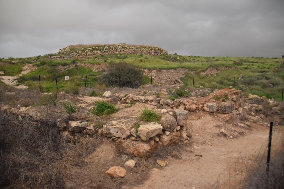 Lachish gate and palace