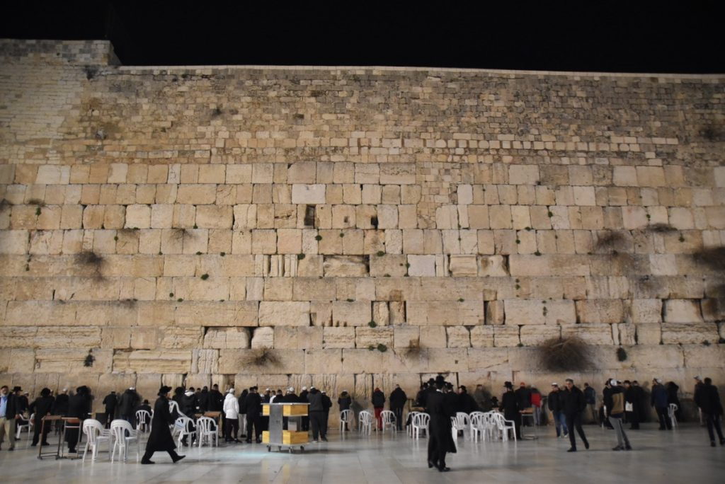 Western Wall January 2019 Israel Tour with John Delancey and BIMT
