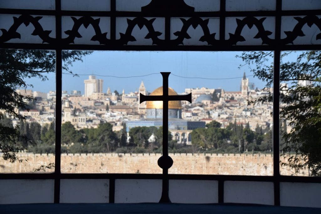 Jerusalem January 2019 Israel Tour with John Delancey of BIMT
