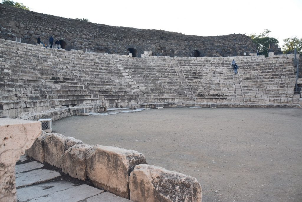 Beth Shean January 2019 Israel Tour with John DeLancey