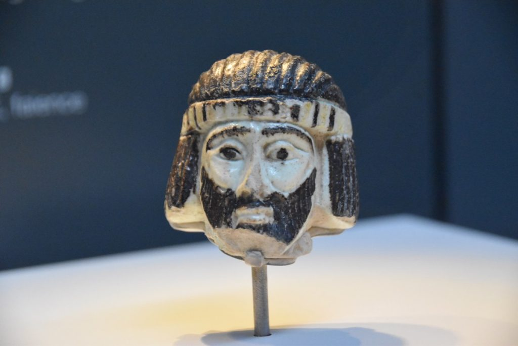 Israel Museum kingly head January 2019 Israel Tour John Delancey BIMT