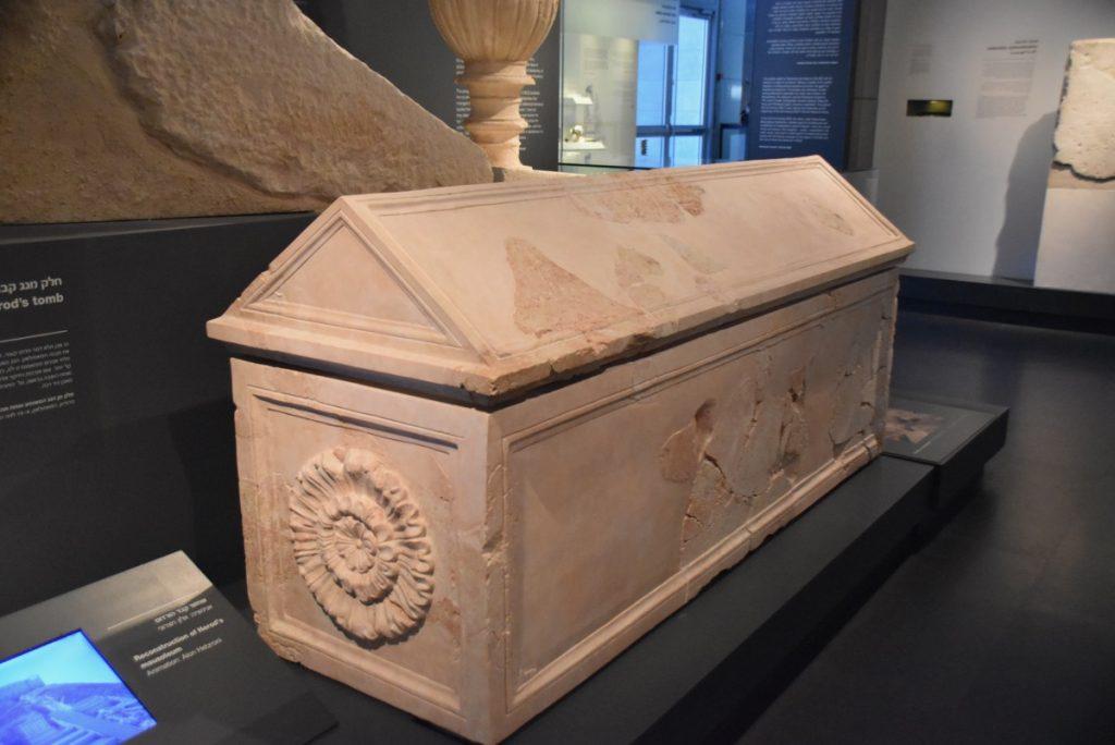 Israel Museum Herod's coffin January 2019 Israel Tour John Delancey BIMT