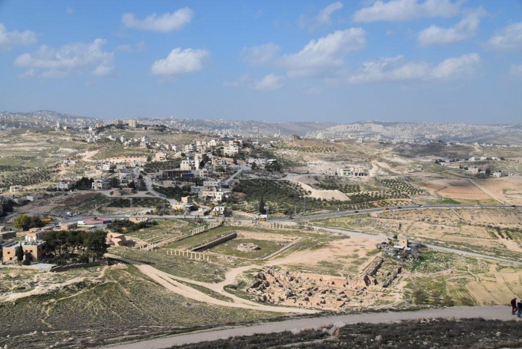Herodium January 2019 Israel Tour John Delancey BIMT
