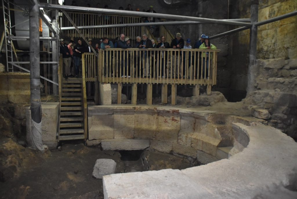 Western Wall odeon Jerusalem January 2019 Israel Tour John Delancey BIMT
