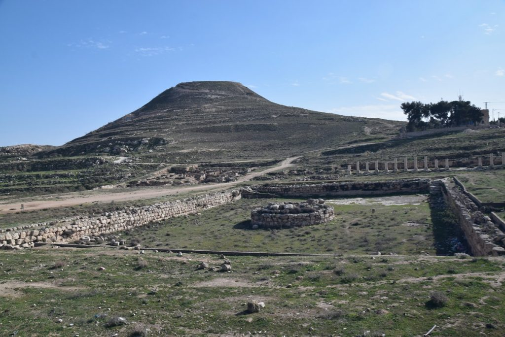Herodium January 2019 Israel Tour John Delancey BIMT