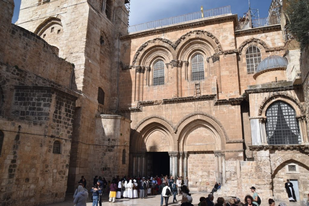Holy Sepulcher January 2019 Israel Tour with John Delancey of BIMT