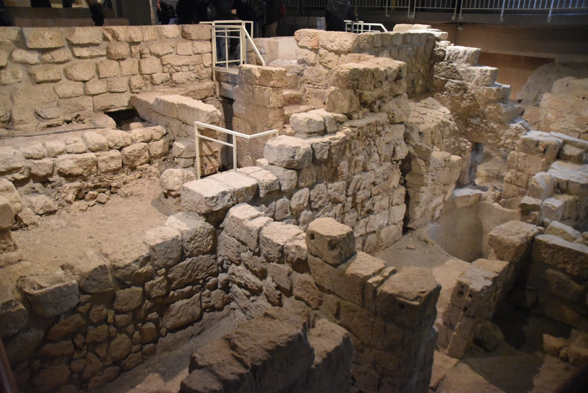 Herodian Mansion in Jerusalem