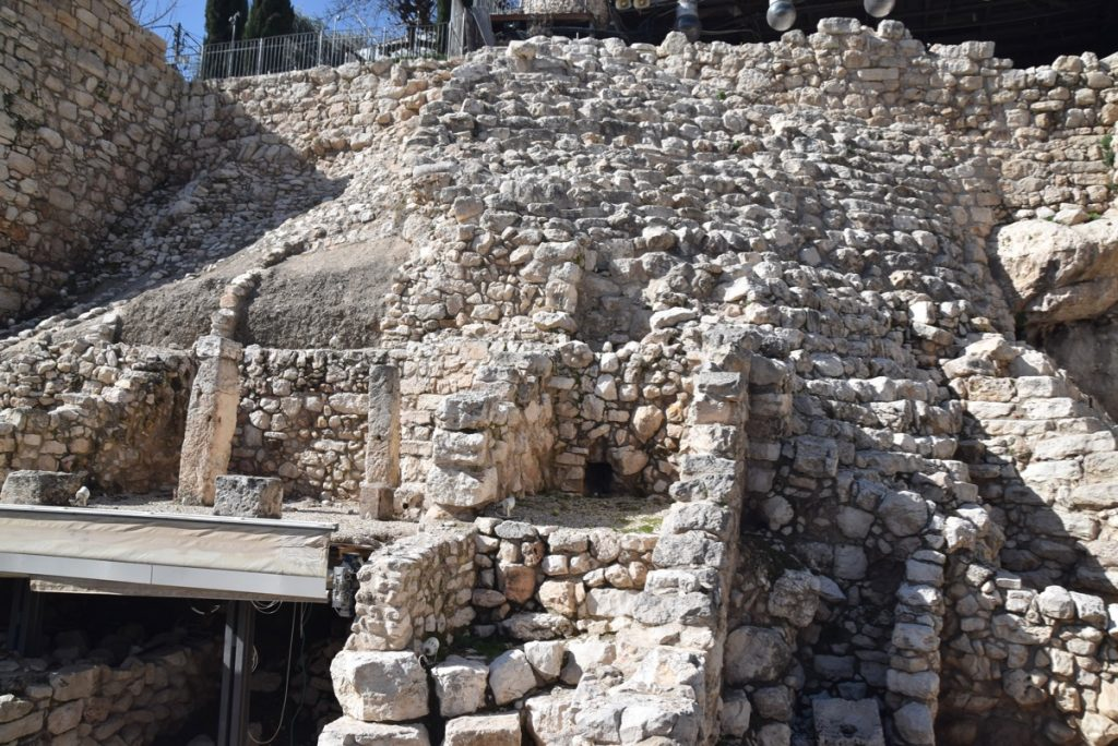 Jerusalem City of David January 2019 Israel Tour John Delancey BIMT