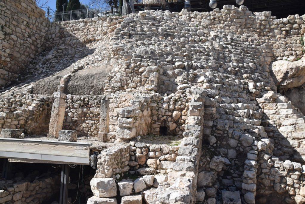Jerusalem City of David January 2019 Israel Tour John Delancey BIMT