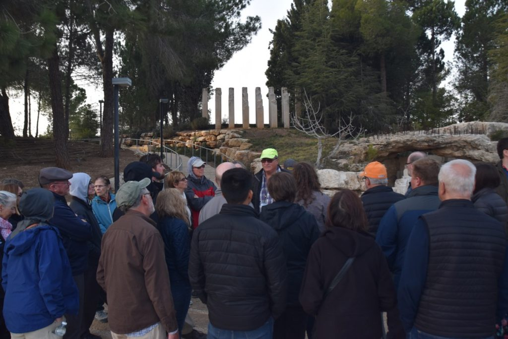 Jerusalem Yad Vashem January 2019 Israel Tour with John Delancey of BIMT