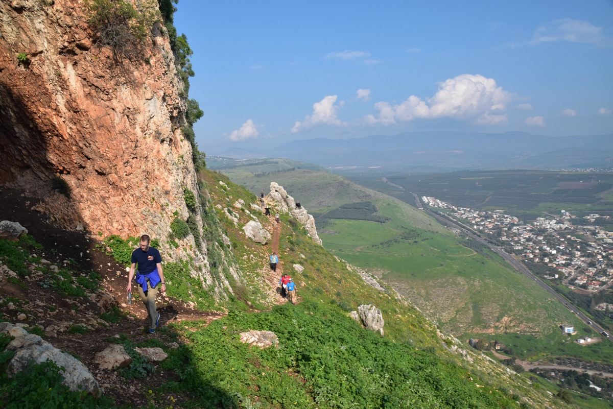 Arbel Hike Israel