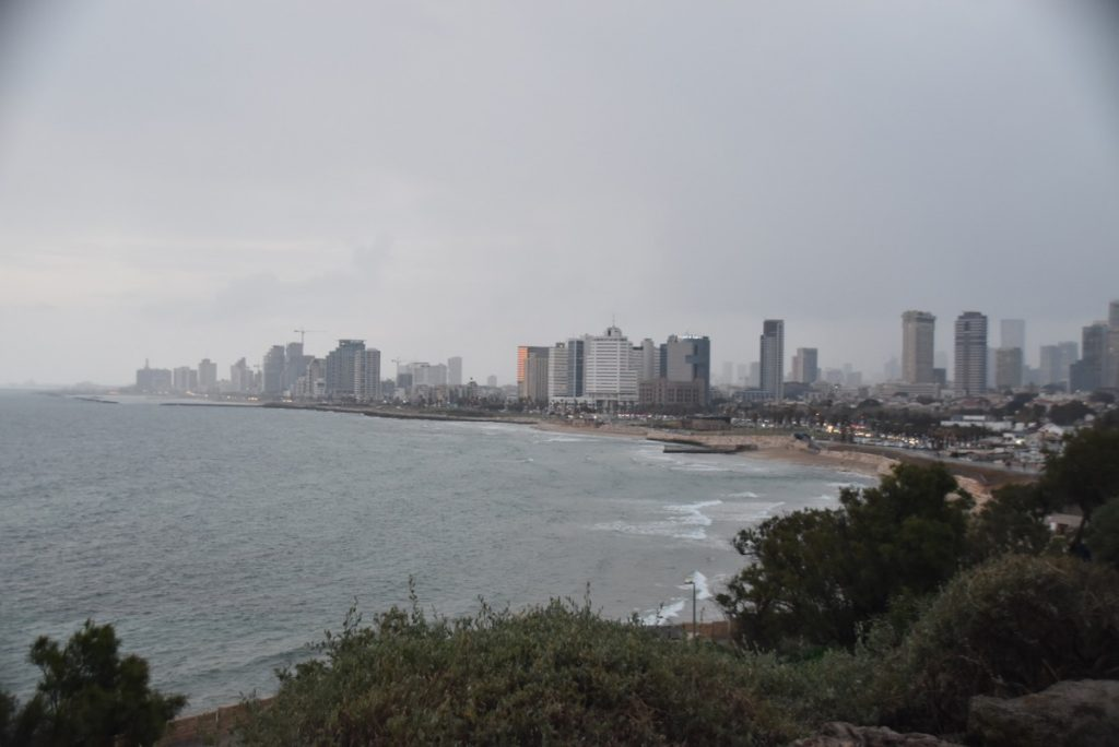 Jaffa Tel Aviv beach Israel February 2019 Israel Tour with John DeLancey