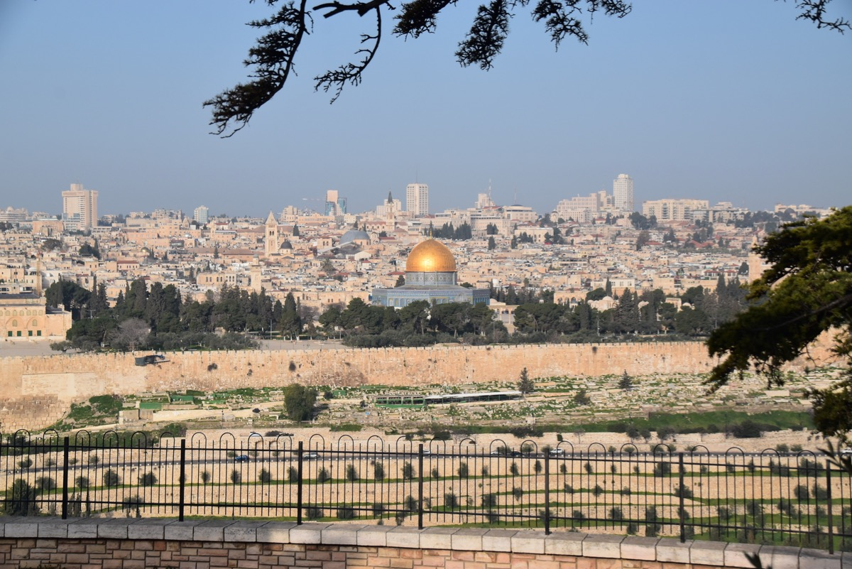 Temple Mount and Old City