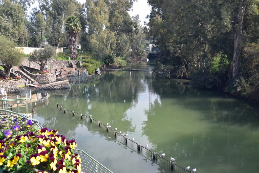 Yardenit Jordan River February 2019 Israel Tour with John DeLancey