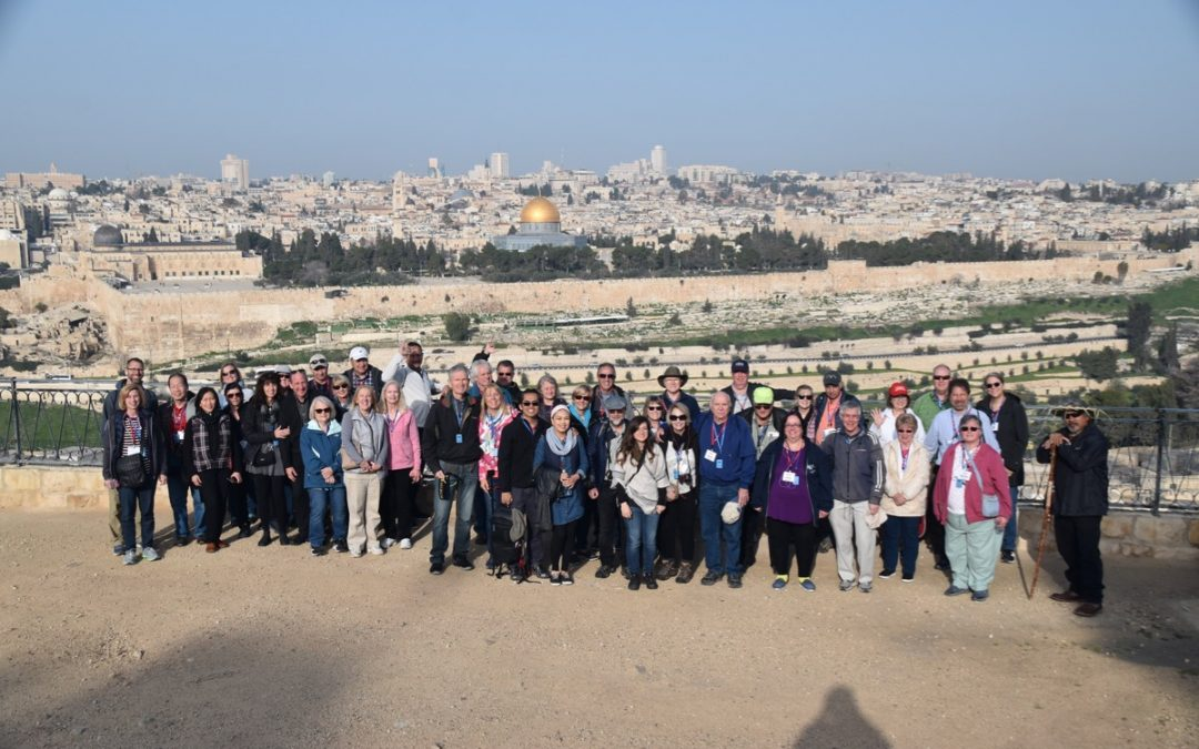 Mt of Olives and Jerusalem