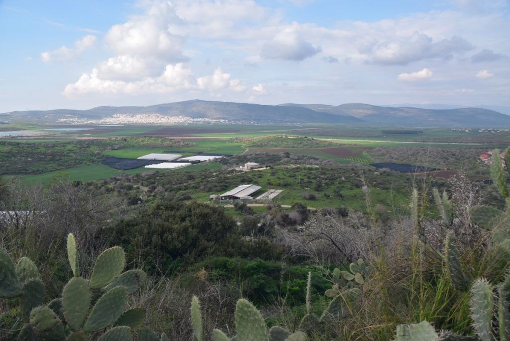 Beit Netofa valley February 2019 Israel Tour with Dr. John DeLancey