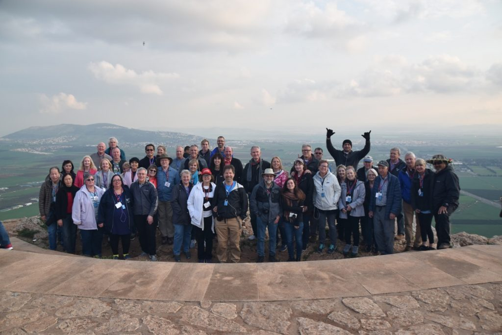 February 2019 Israel Tour Group with John Delancey, Tour Leader