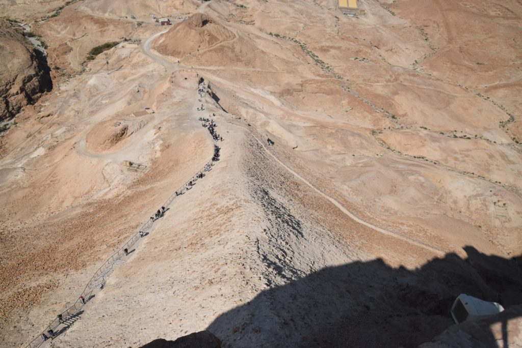 Masada February 2019 Israel Tour with John DeLancey