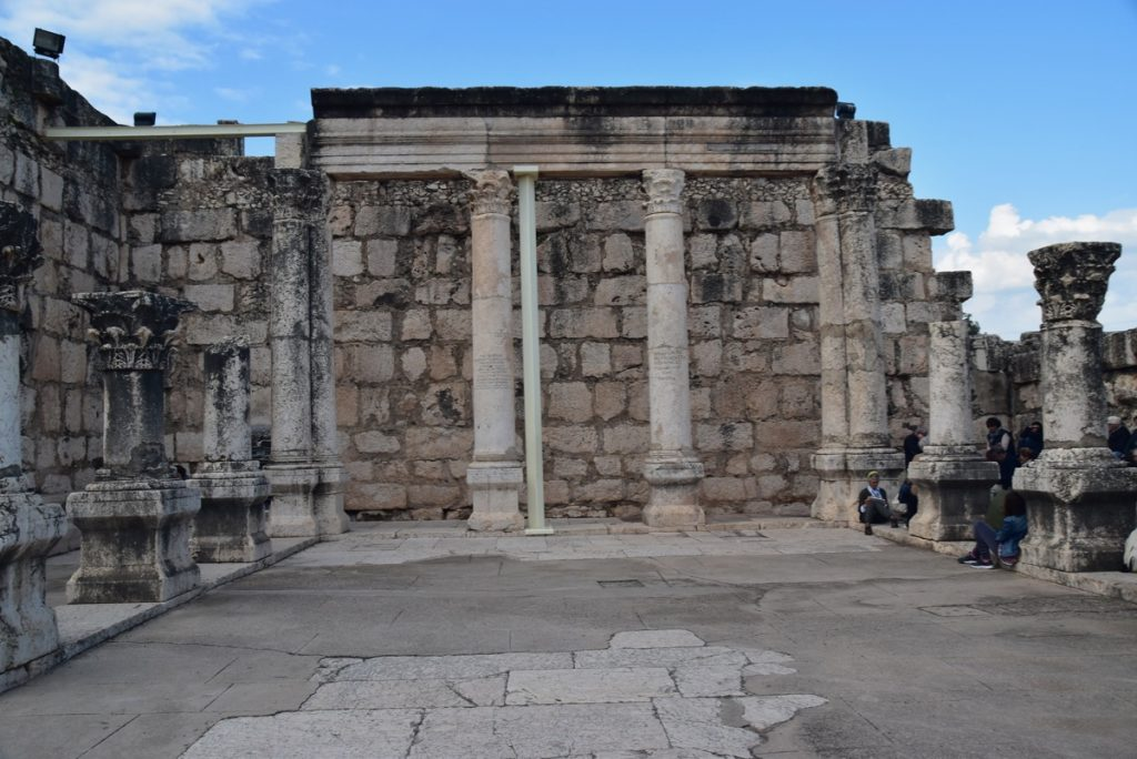 Capernaum February 2019 Israel Tour with John DeLancey
