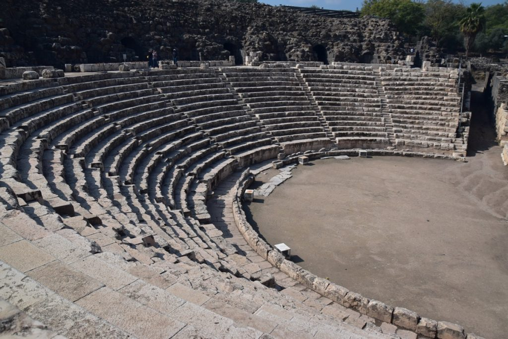 Beth Shean February 2019 Israel Tour with John DeLancey