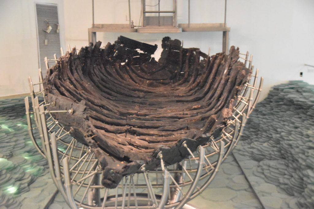 Ancient boat February 2019 Israel Tour with John DeLancey