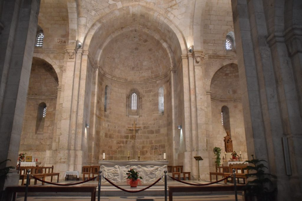 Jerusalem St. Anne's Church February 2019 Israel Tour with John DeLancey