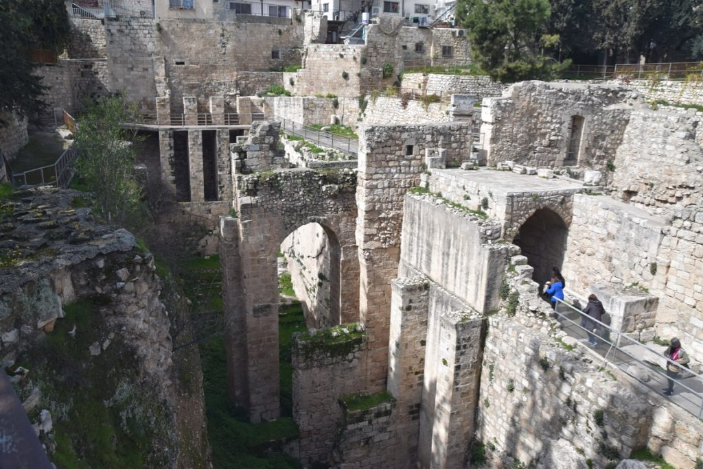 Pools of Bethesda Jerusalem February 2019 Israel Tour with John DeLancey