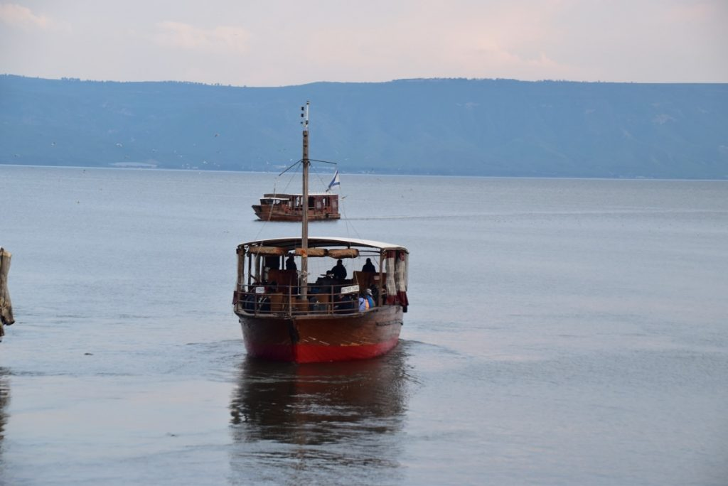 Sea of Galilee February 2019 Israel Tour with John DeLancey