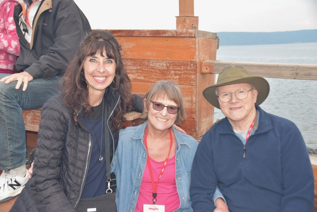 February 2019 Israel Tour Sea of Galilee John DeLancey