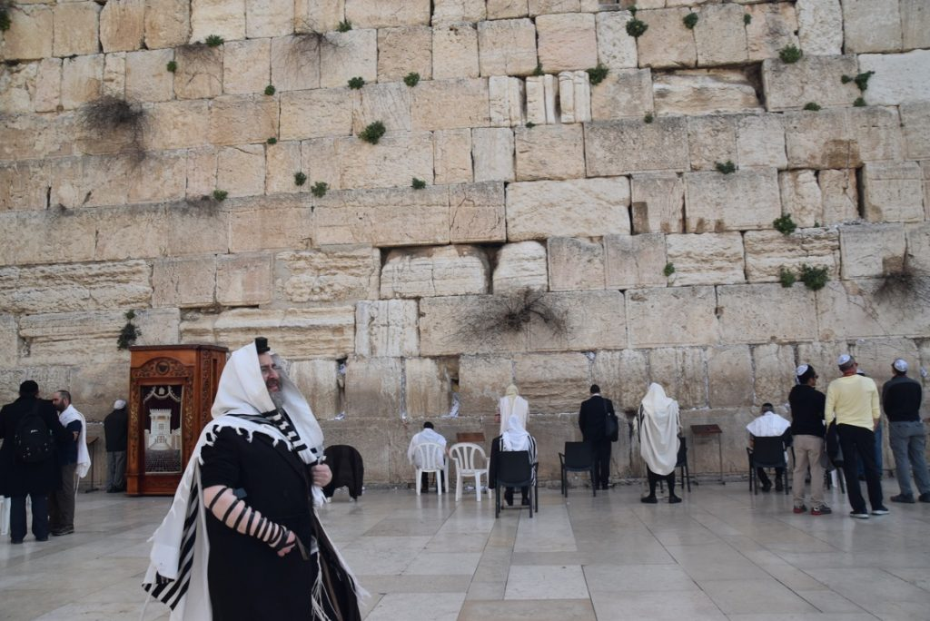 Western Wall February 2019 Israel Tour with John DeLancey