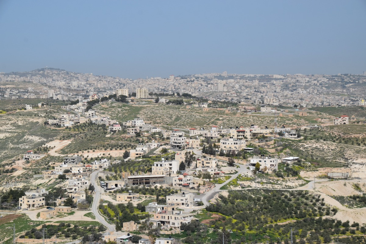 Bethlehem - Jerusalem area