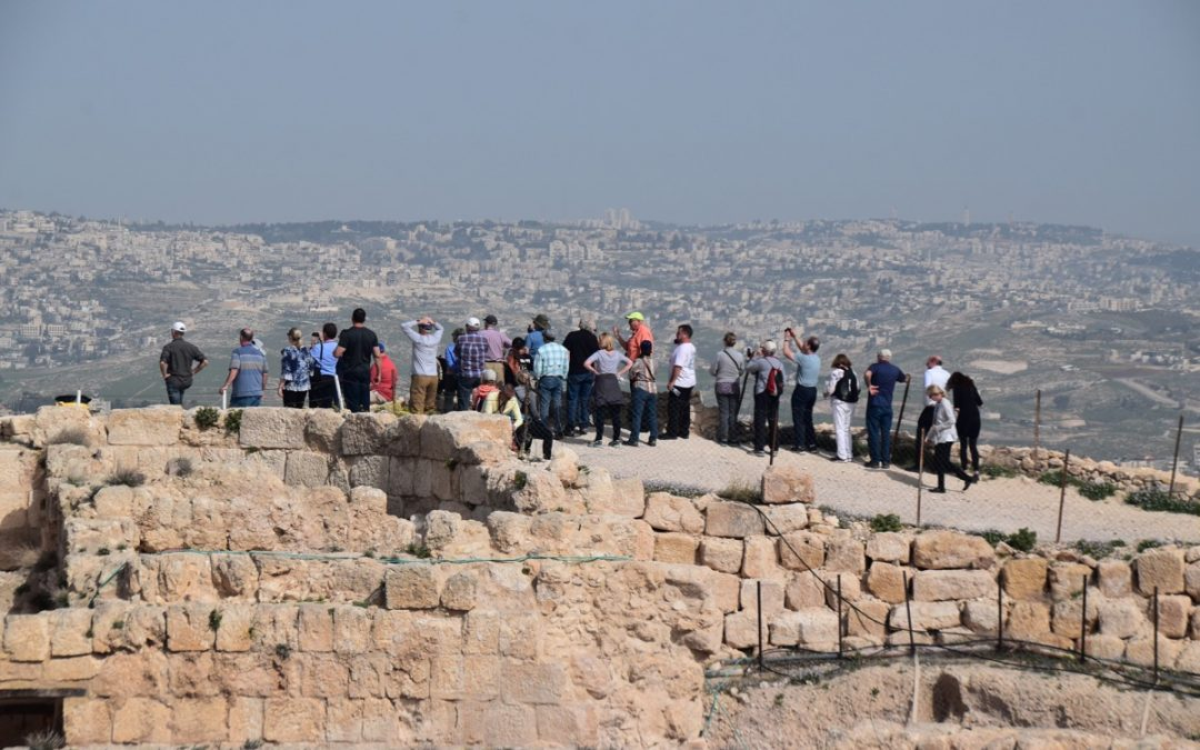 A Spectacular View from Herodium!
