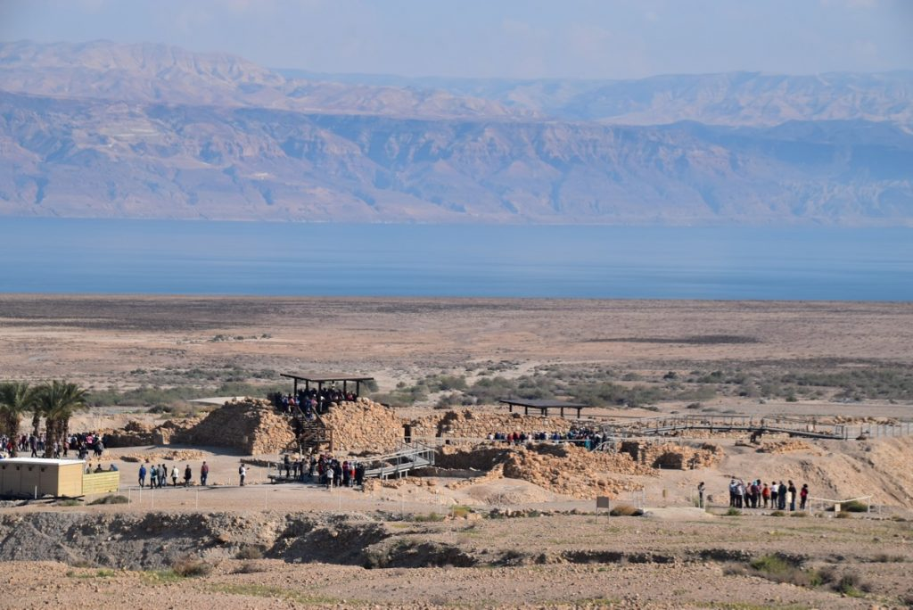 Qumran February 2019 Israel Tour with John DeLancey