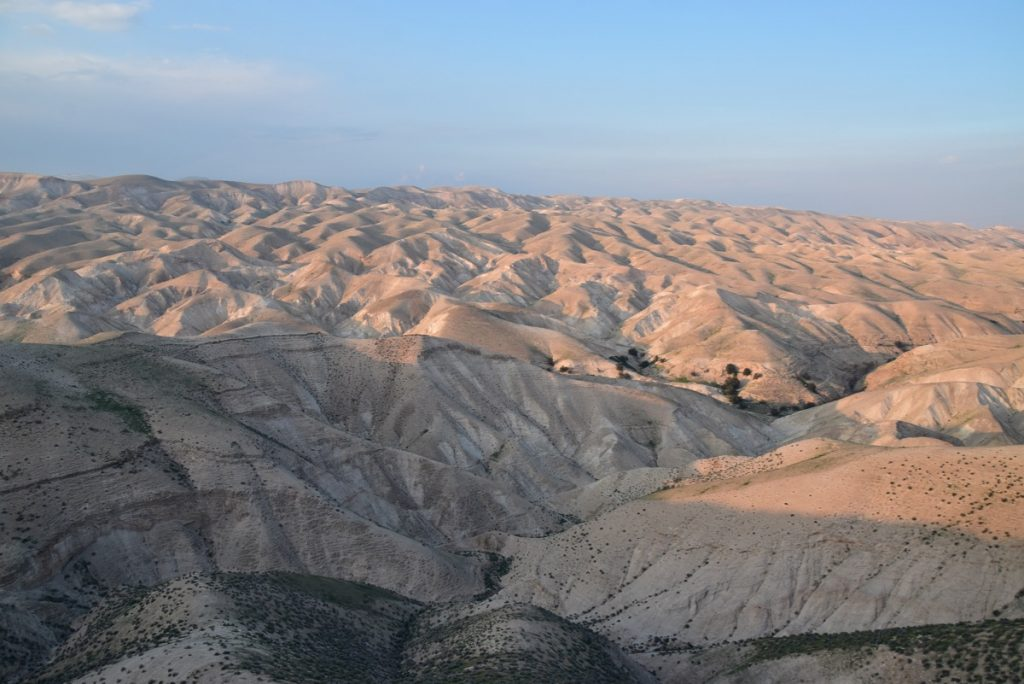 Wadi Qelt February 2019 Israel Tour with John DeLancey