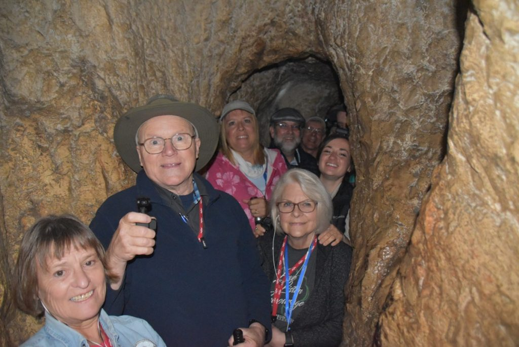 Hezekiah Tunnel City of David February 2019 Israel Tour with John DeLancey