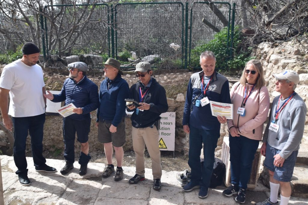 City of David February 2019 Israel Tour with John DeLancey