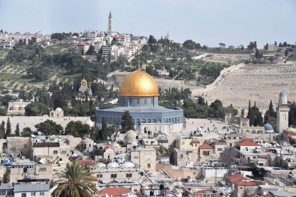 Dome of the Rock February 2019 Israel Tour with John DeLancey