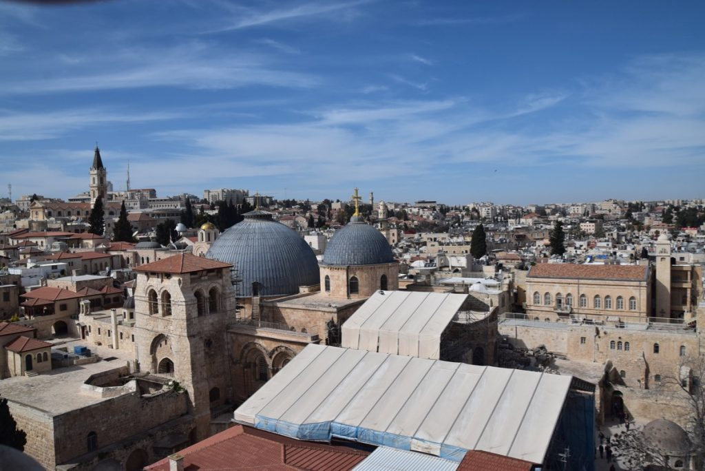 Holy Sepulcher February 2019 Israel Tour with John DeLancey