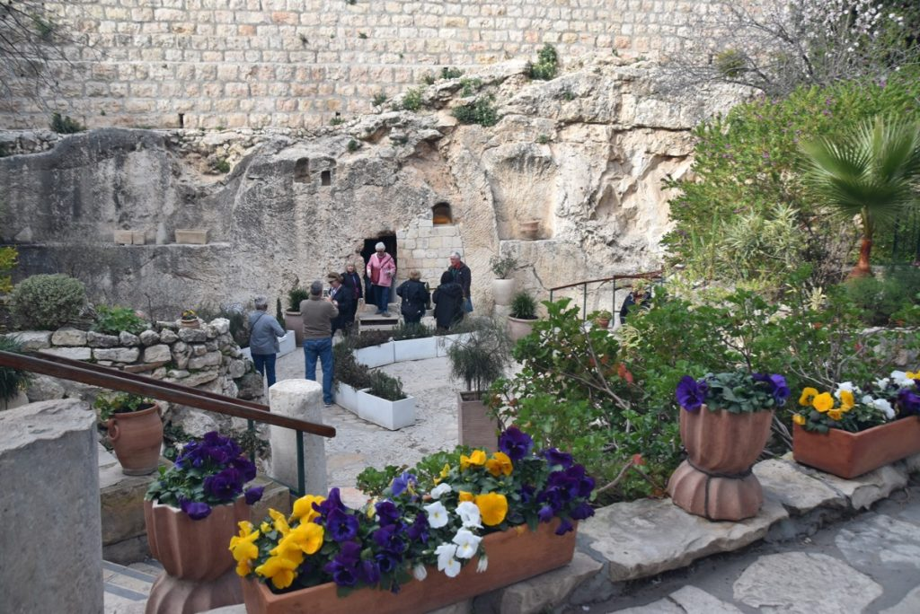 Garden Tomb February 2019 Israel Tour with John DeLancey