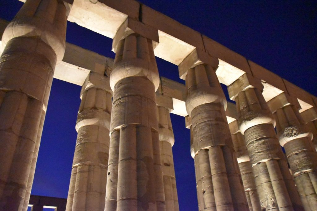 Temple of Luxor Egypt February 2019 Israel Tour with John DeLancey