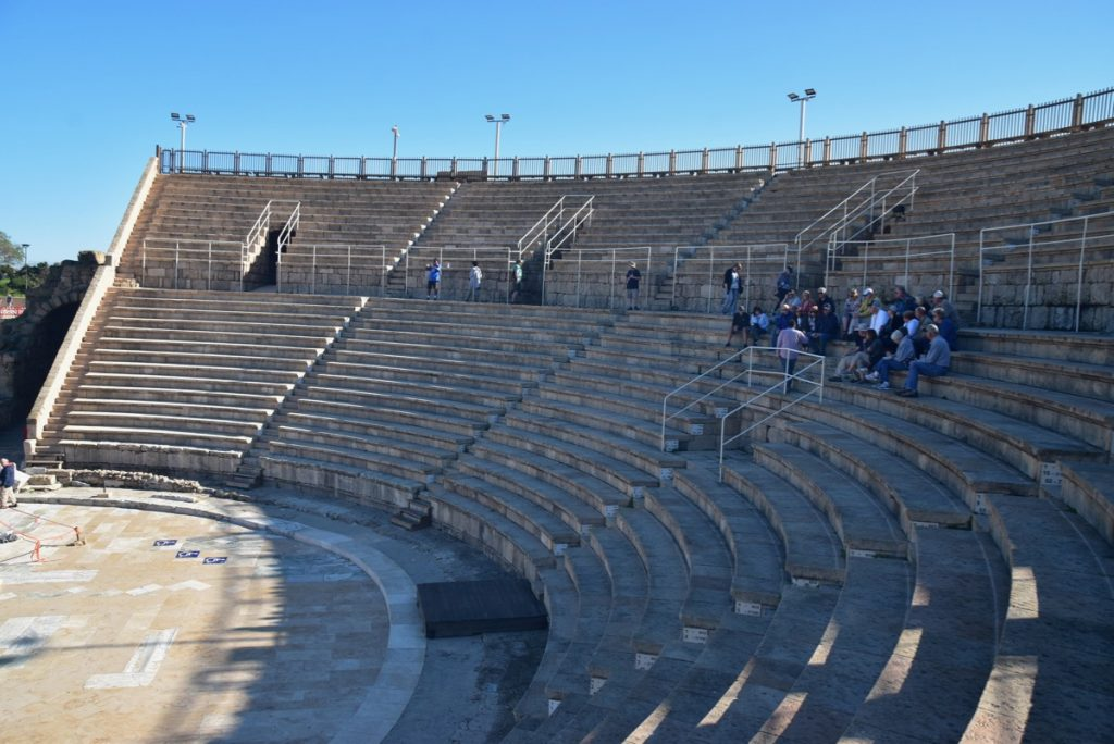 Caesarea March 2019 Israel Tour with John DeLancey