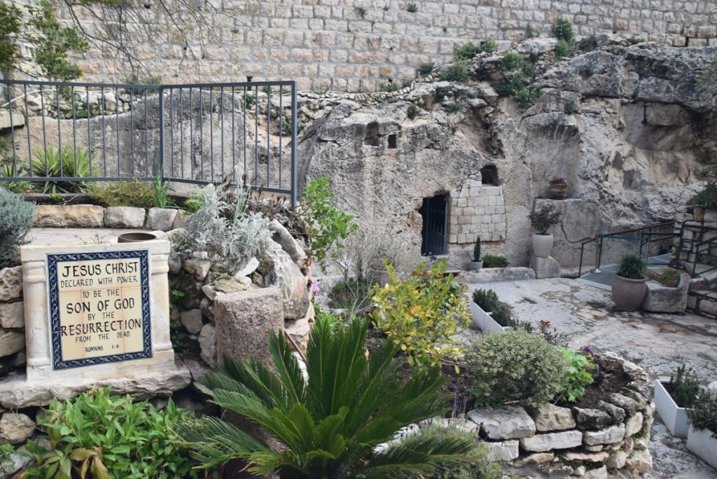 Garden Tomb March 2019 Israel Tour with John DeLancey