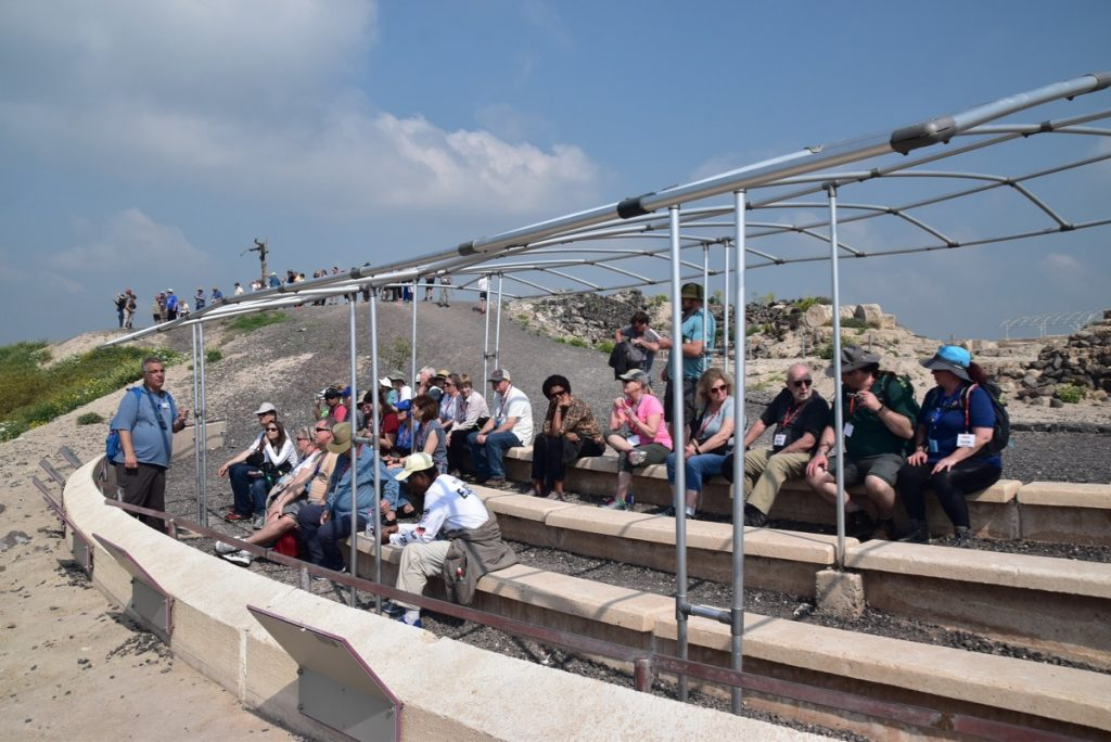 Beth Shean John Delancey Tour Group - March 2019 Israel Tour